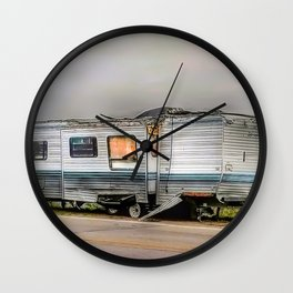 Trailer For Sale Or Rent Wall Clock