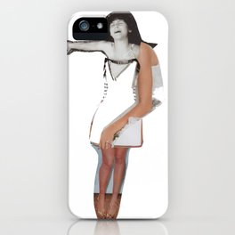 You're Too Much! iPhone Case