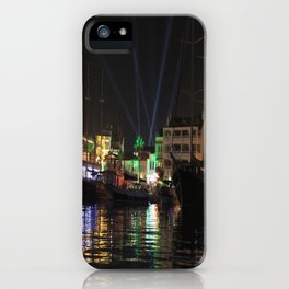 Marmaris Marina Nightscape iPhone Case