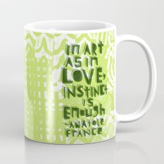 Instinct Is Enough Mug