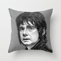 hobbit Throw Pillows featuring HOBBIT by zinakorotkova