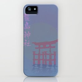 Midnight in Japan iPhone Case
