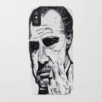 the godfather iPhone & iPod Cases featuring The Godfather by tyler Guill