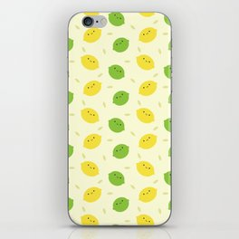Kawaii Lemons & Limes iPhone Skin