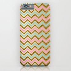 Glitter Chevron Slim Case iPhone 6s