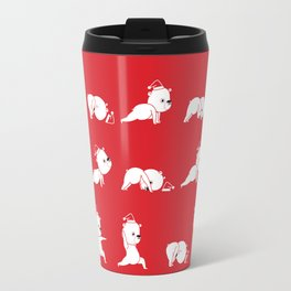 Yoga Bear - Polar Bear Travel Mug
