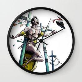 Korean Vampire Wall Clock