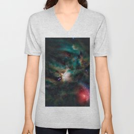 Spacial / Rho Ophiuchi Unisex V-Neck