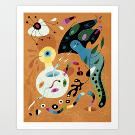 Epiphany Creeper Art Print