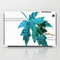 tinker bell iPad Cases featuring Tinker Bell I'll always love you by Chien-Yu Peng