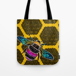 Honeybee lace | Nicole B Roberts Tote Bag