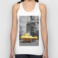 yellow submarine Tank Tops featuring yellow submarine  by 33bc