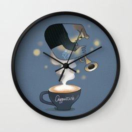 Coffee & Jazz Wall Clock