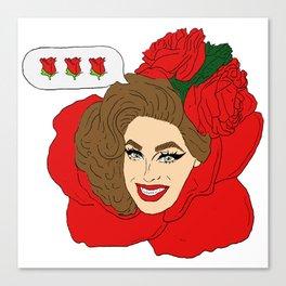 It's her, Valentina! Canvas Print