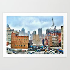 New York 1 Art Print