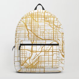 DENVER COLORADO CITY STREET MAP ART Backpack