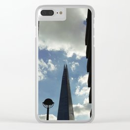 Shards Of Sky Clear iPhone Case
