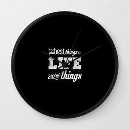Life Quotes Wall Clock