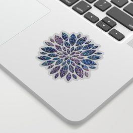 Floral Abstract 34 Sticker