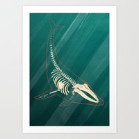 Underwater. Art Print