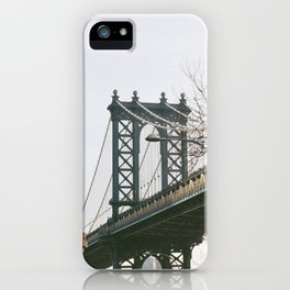 Williamsburg Bridge Views iPhone Case