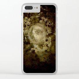 Victorian Watcher Clear iPhone Case