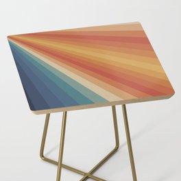 Retro 70s Sunrays Side Table