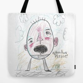 Attention Please Tote Bag