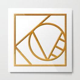 L O V E - Symbol Metal Print