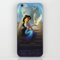 jasmine iPhone & iPod Skins featuring Jasmine by KATIE PAYNE