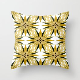 Canna-Stars... Throw Pillow