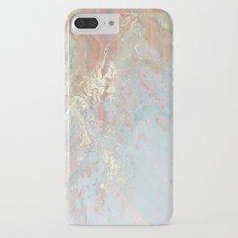 Pastel unicorn marble iPhone Case
