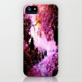 Romantic Fantasy Garden iPhone Case