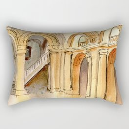 New York Public Library Rectangular Pillow