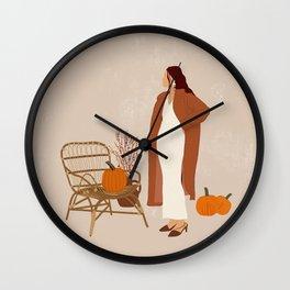 You left me waiting II Wall Clock