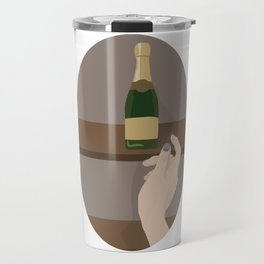 Champagne Mommy Travel Mug