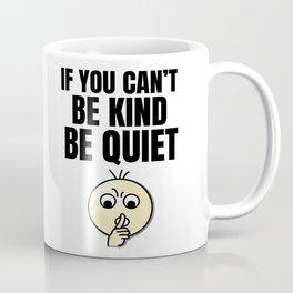 Be Kind - Black Coffee Mug