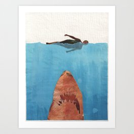 Fish Food Art Print