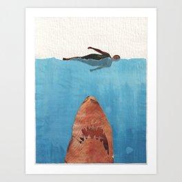 Fish Food Art Print