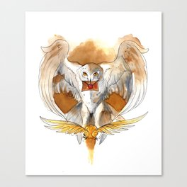 Potter Hedwig Owl Canvas Print