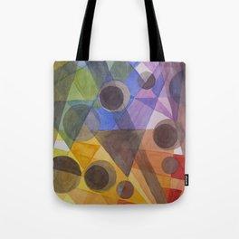 Rainbow Prism Tote Bag
