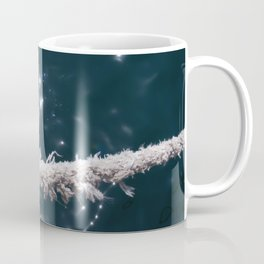 Liquid sapphire (and the old rope) Coffee Mug