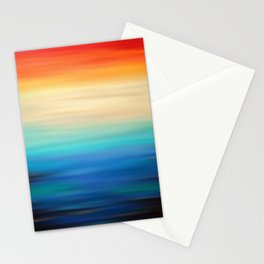 Abstract Landscape 21 Stationery Cards