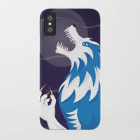 werewolf iPhone & iPod Cases featuring Werewolf by Designsbyemjay