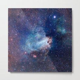 Omega Nebula Metal Print