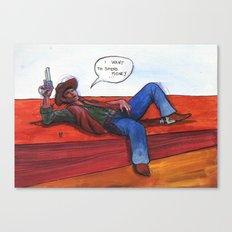 Money-boy Canvas Print