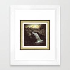 Appalachian Stream Framed Art Print