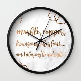So hot right now Wall Clock