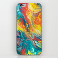 Abstract Colors II iPhone & iPod Skin