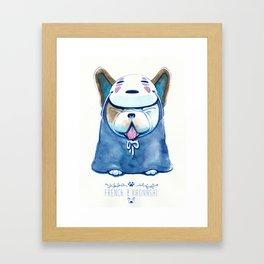 French B. Kaonashi Framed Art Print